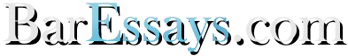 BarEssays logo